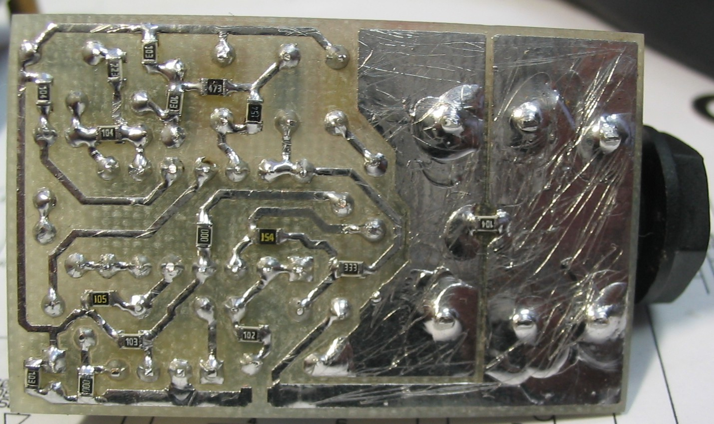 схема примочки trash metal